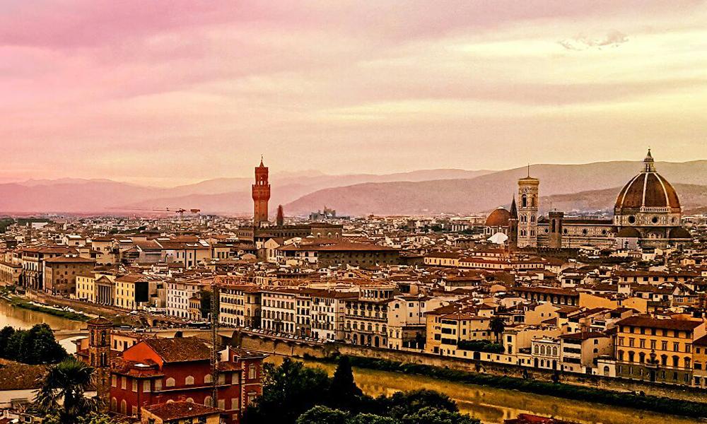 Piazzale Michelangelo e il Giardino delle Rose